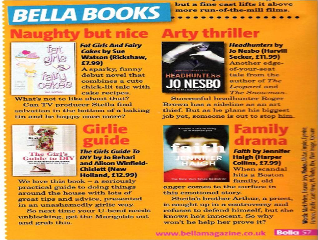 Bella Magazine sept 2011