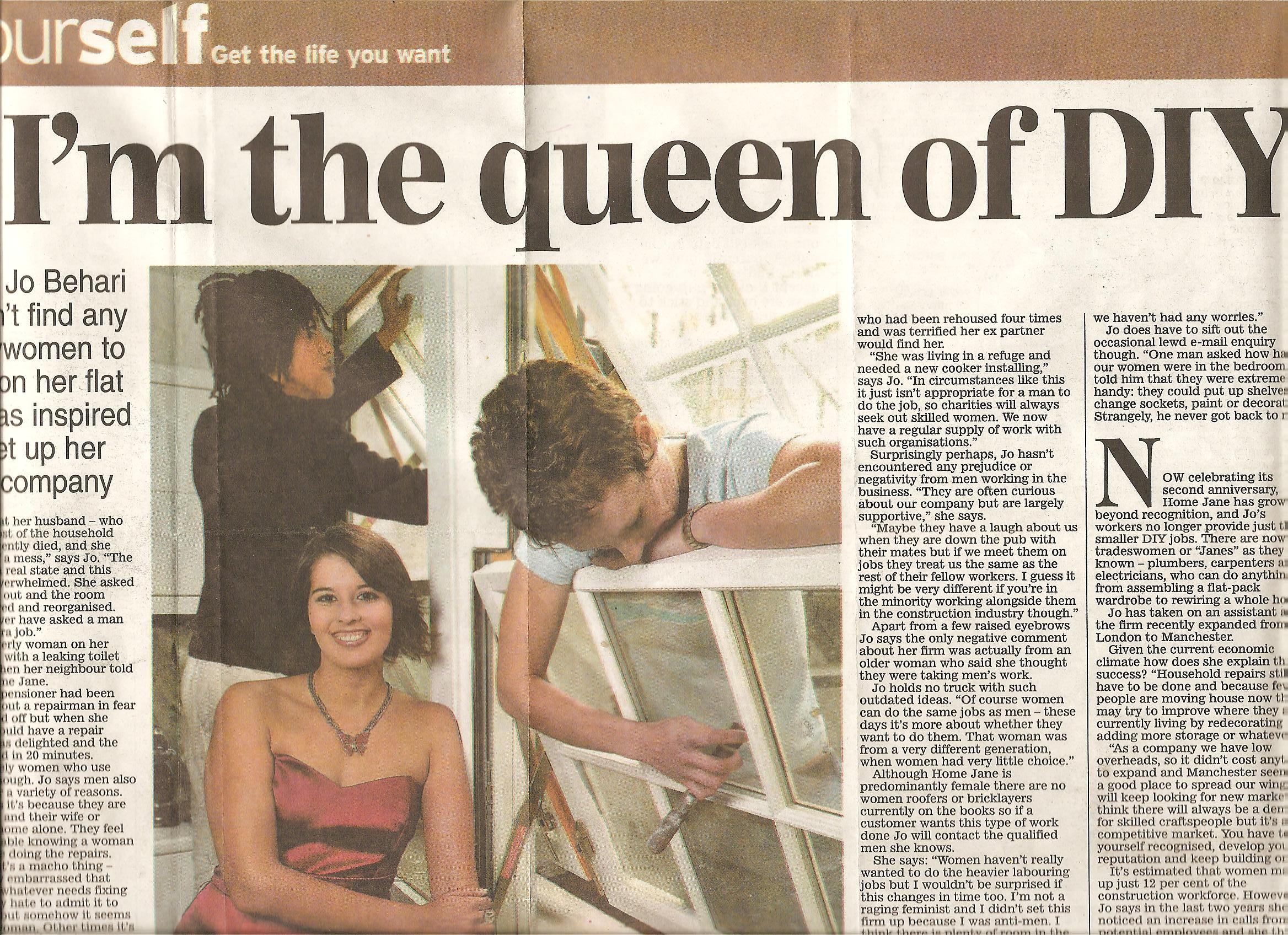 Daily Express Nov 2009