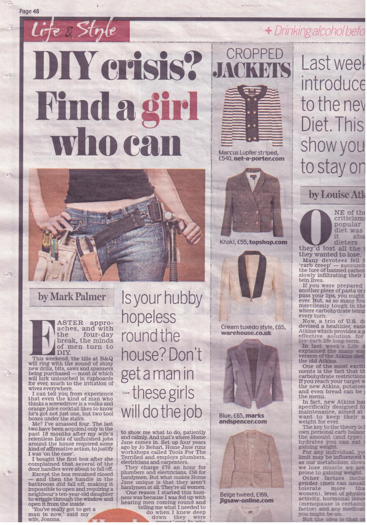 Daily Mail March 2010