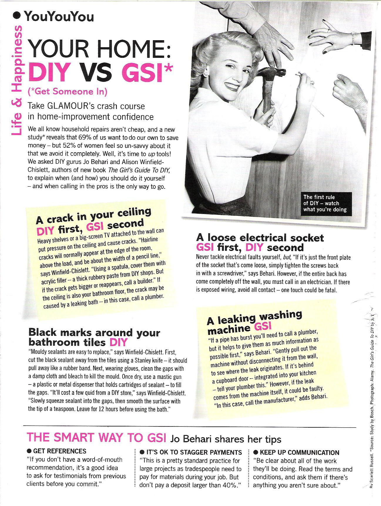 Glamour Magazine Sept 2011