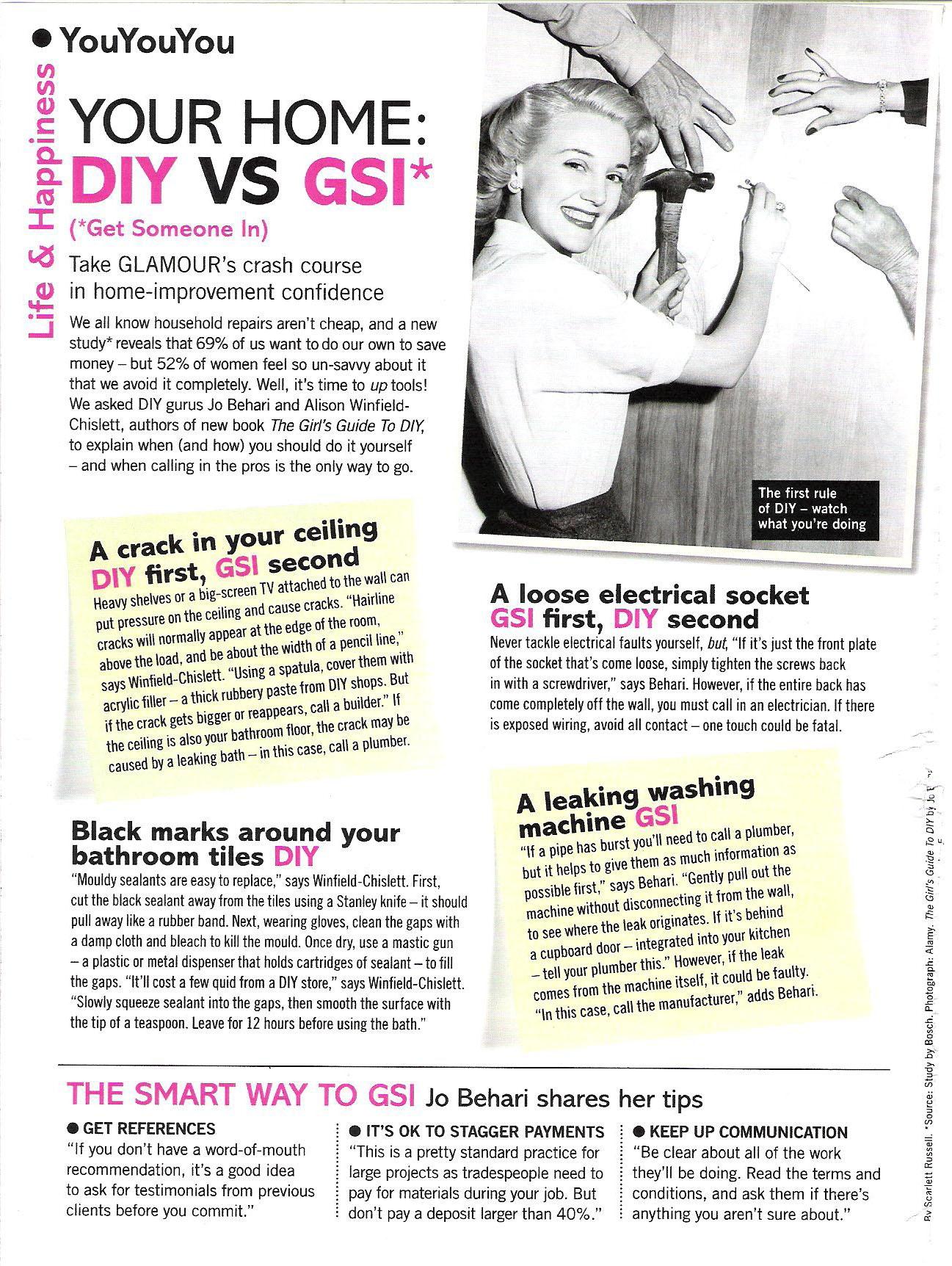 Glamour Magazine Sept 2011