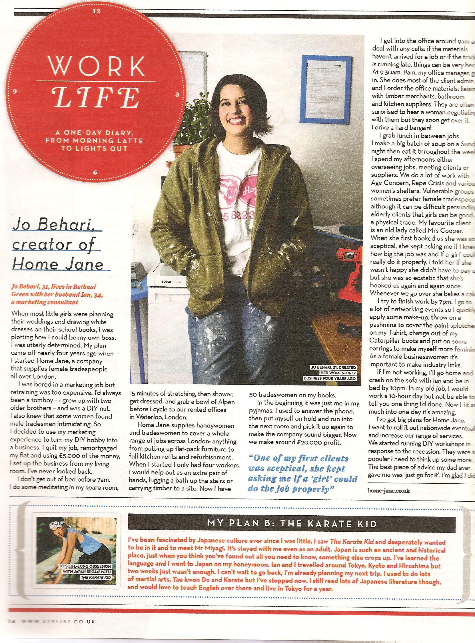 Stylist Magazine March 2010