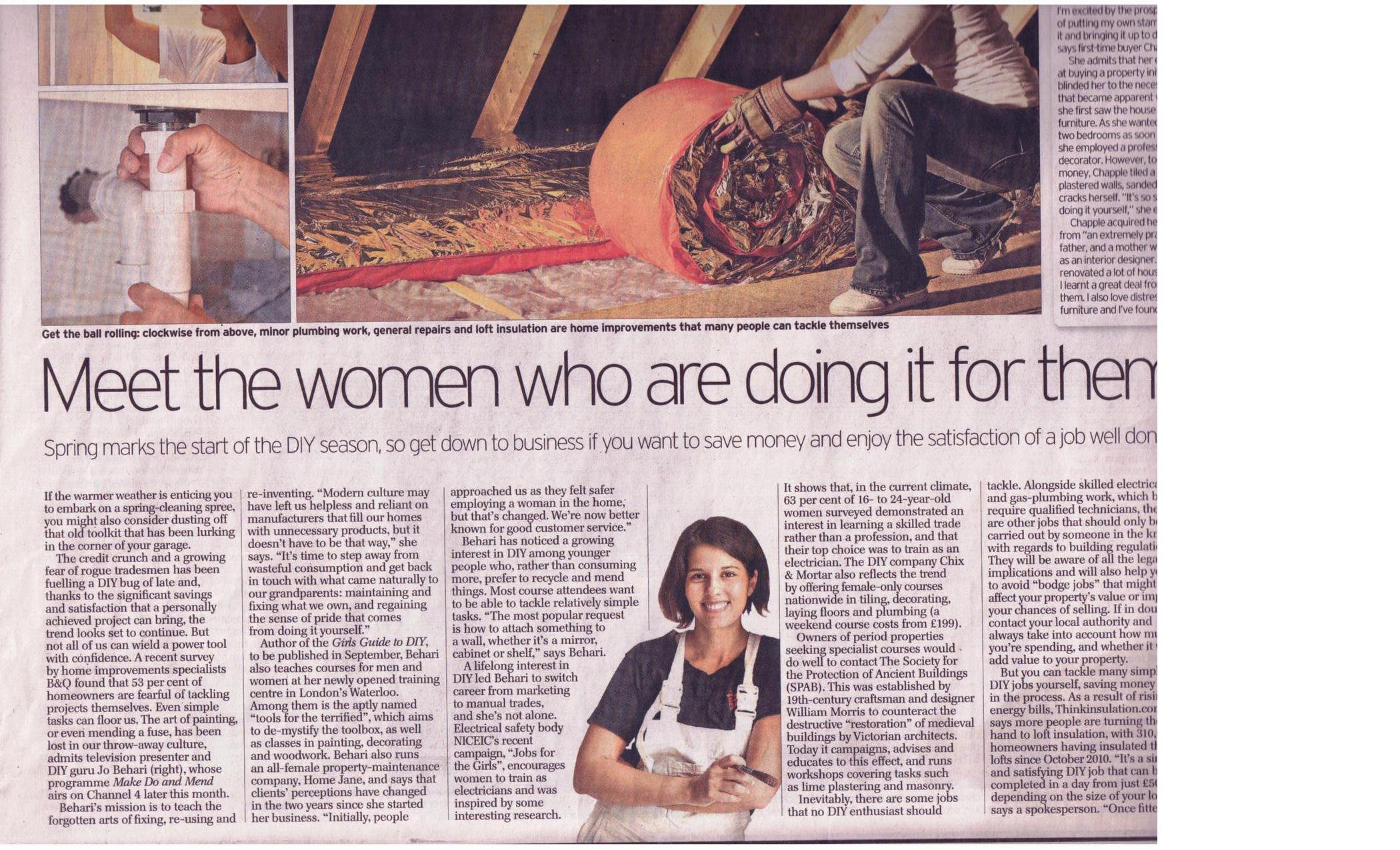The Daily Telegraph aprill 2011