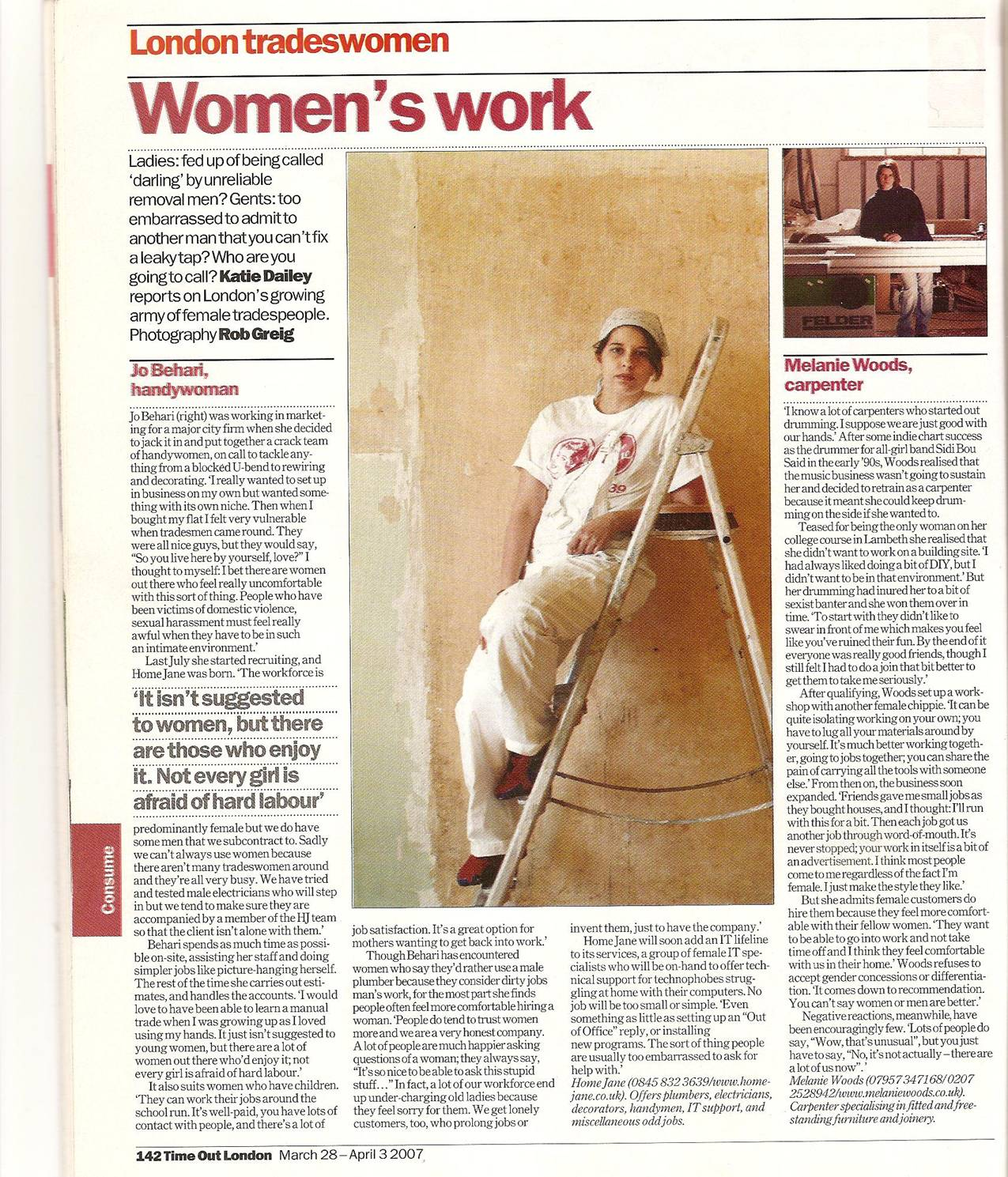 Time Out - March 2007